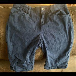 Navy girls shorts. Size 12